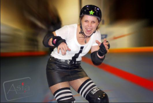 Photo story - Roller Derby