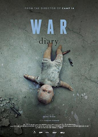 WAR DIARY BY CARSTEN STORMER NAD MARC WIESE